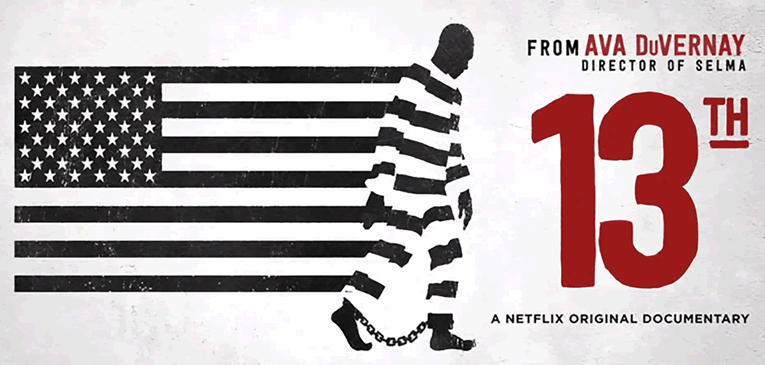 13th Ava DuVernay Netflix Documentary Poster