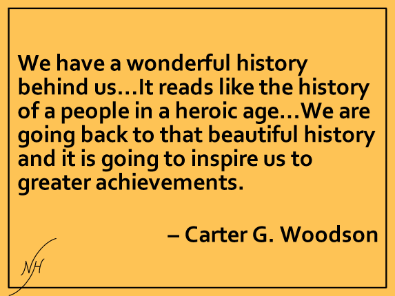 Carter G Woodson Quote 2
