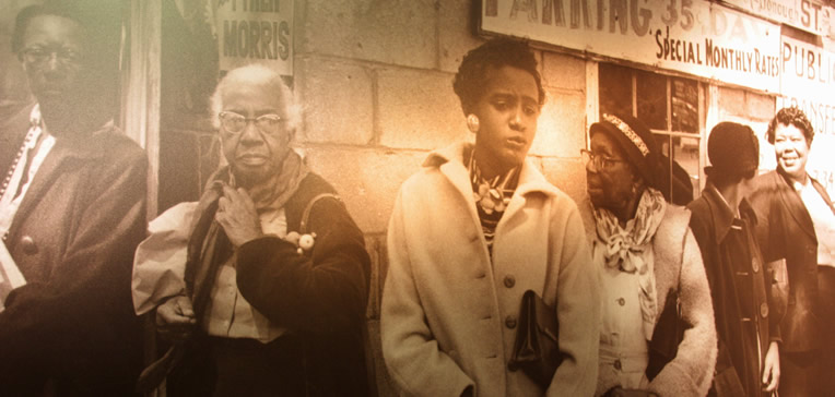 Birmingham Civil Rights Institute Montgomery Bus Boycott Women