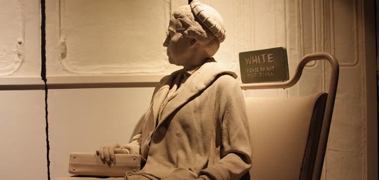 Birmingham Civil Rights Institute-Rosa Parks Montgomery Bus Boycott