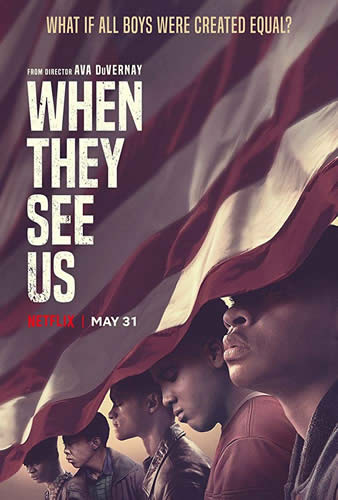 When They See Us artwork