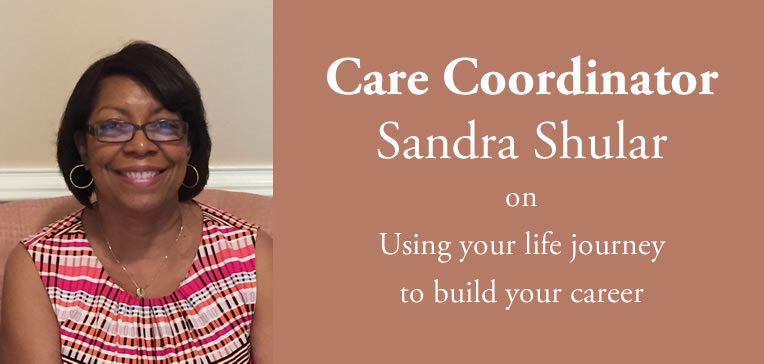 Sandra Shular Blog Feature Image: Portrait of Sandra Shular, Care Coordinator