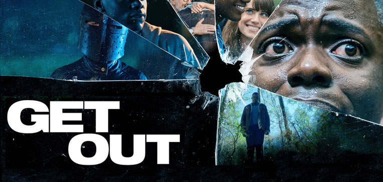 Feature image depicting art from the Get Out movie poster.
