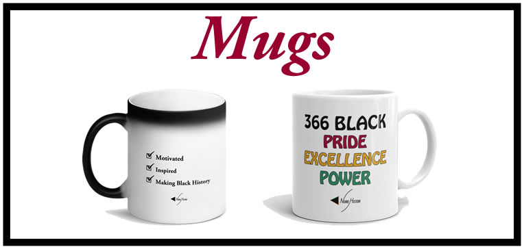 Shop items for mugs feature image.