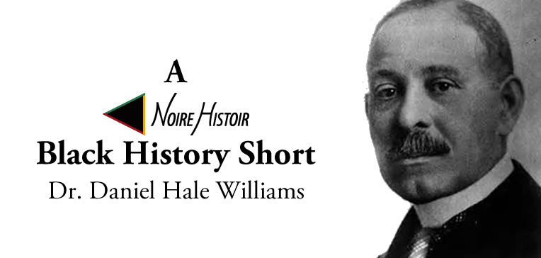 Blog feature image depicting a portrait of Dr Daniel Hale Williams.