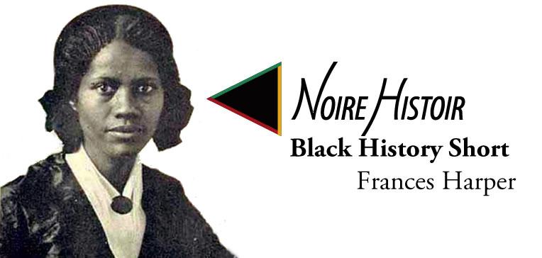 Blog feature image depicting a portrait of Frances Harper.