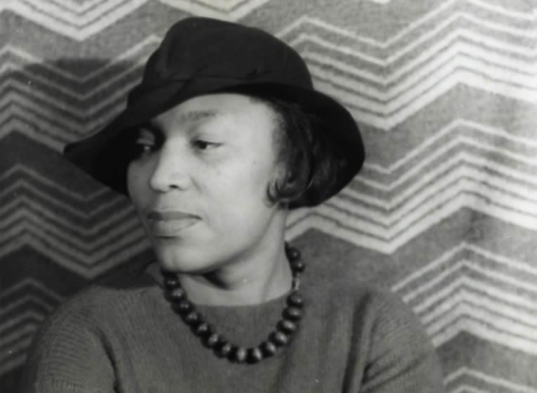 Zora Neale Hurston in 1938 by Carl Van Vechten.