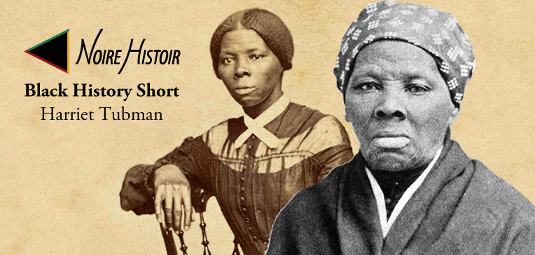 Blog post feature image depicting two portraits of Harriet Tubman as a young woman and older woman.