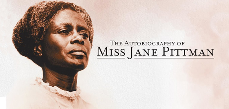 Portrait of Cicely Tyson as she appeared in The Autobiography of Miss Jane Pittman.