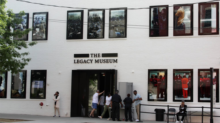 The Legacy Museum Exterior