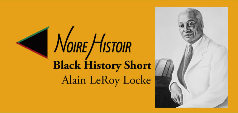 Feature image of Alain LeRoy Locke