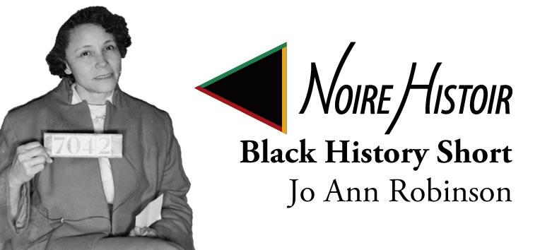 Blog post feature image showing a portrait of Jo Ann Robsinson