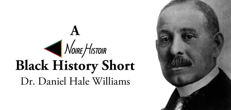 Blog feature image depicting a portrait of Dr Daniel Hale Williams.