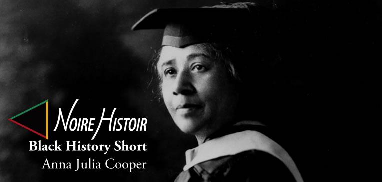 Blog feature image depicting a portrait of Anna Julia Cooper