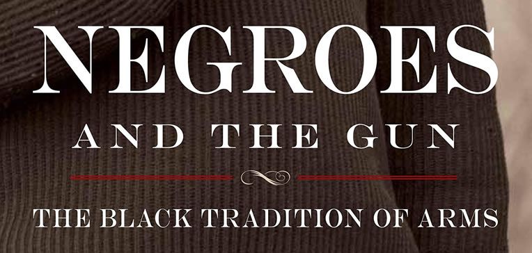 """Feature image based on """"Negroes and the Gun"""" book cover art."""