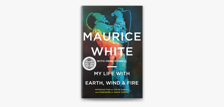 My Life with Earth, Wind & Fire book cover.