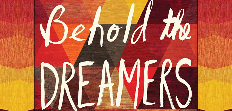 Behold the Dreamers feature image based on the book's cover art.