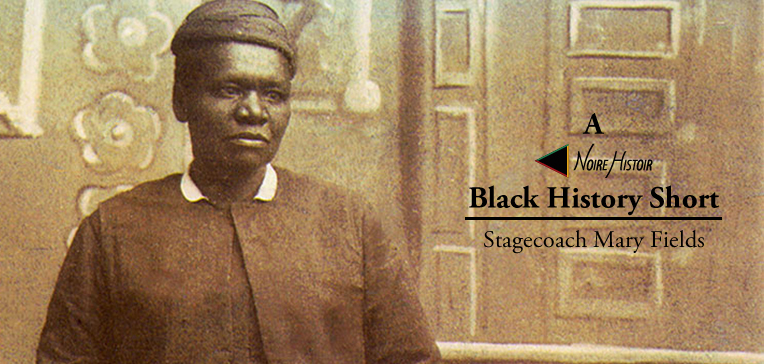 Sepia-toned portrait of Stagecoach Mary Fields.