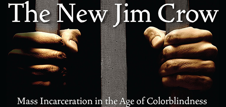 The New Jim Crow feature image based on the book's cover art.